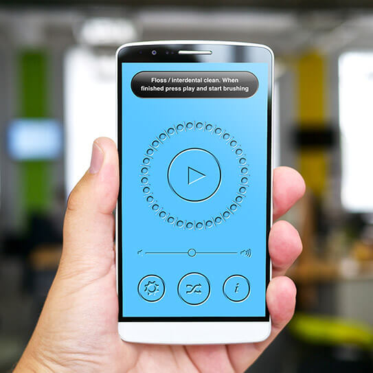 This Smartphone App Makes 2-Minute Brushing Fun